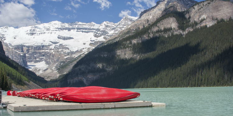 lake louise kayaks