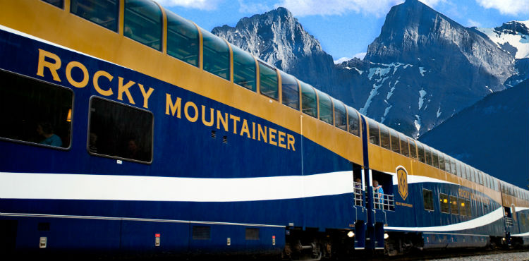 Rocky Mountaineer routes itineraries