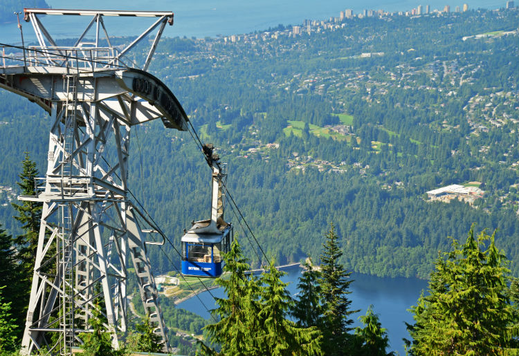 The Gondola at Grouse Mountain