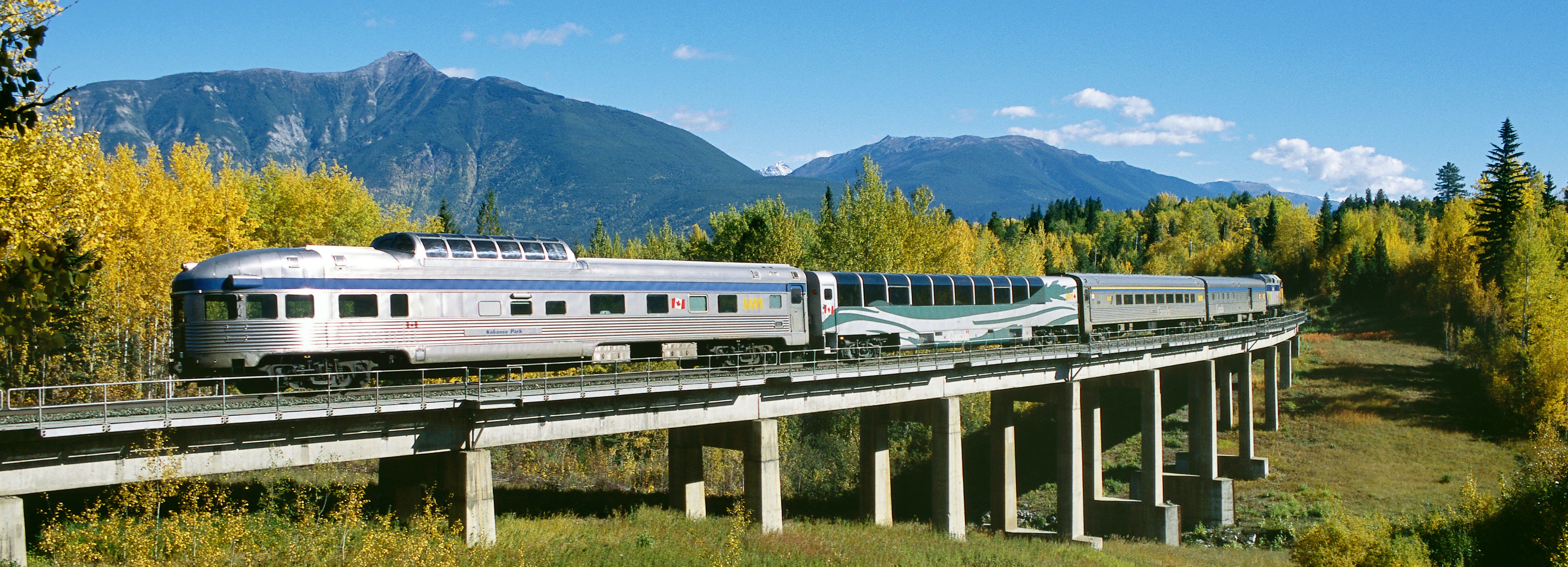 One of the VIA Rail Routes