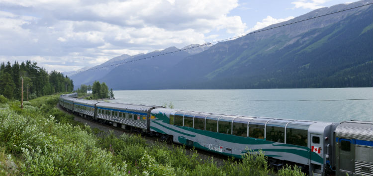 VIA Rail Canadian route