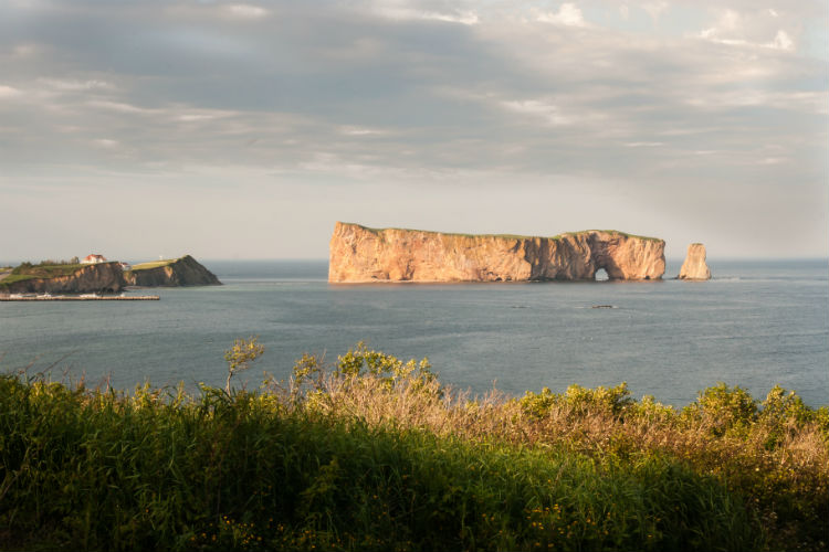 Rocher Percé gulf of st lawrence