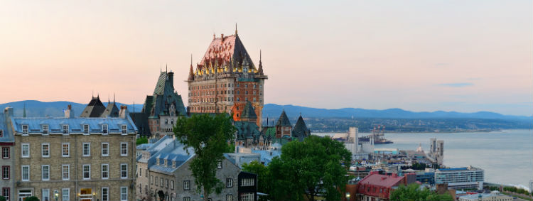 quebec architecture skyline