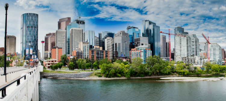 Calgary Alberta Cityscape