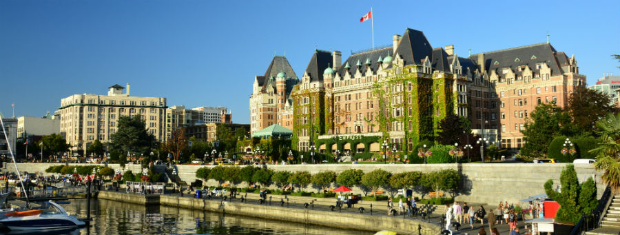 Inner Harbour in Victoria, British Columbia