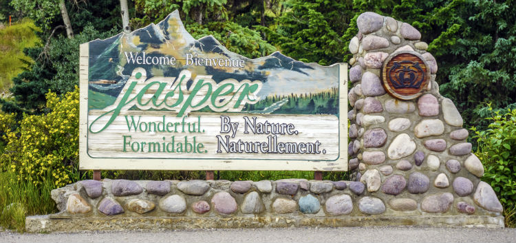 Welcome to Jasper sign