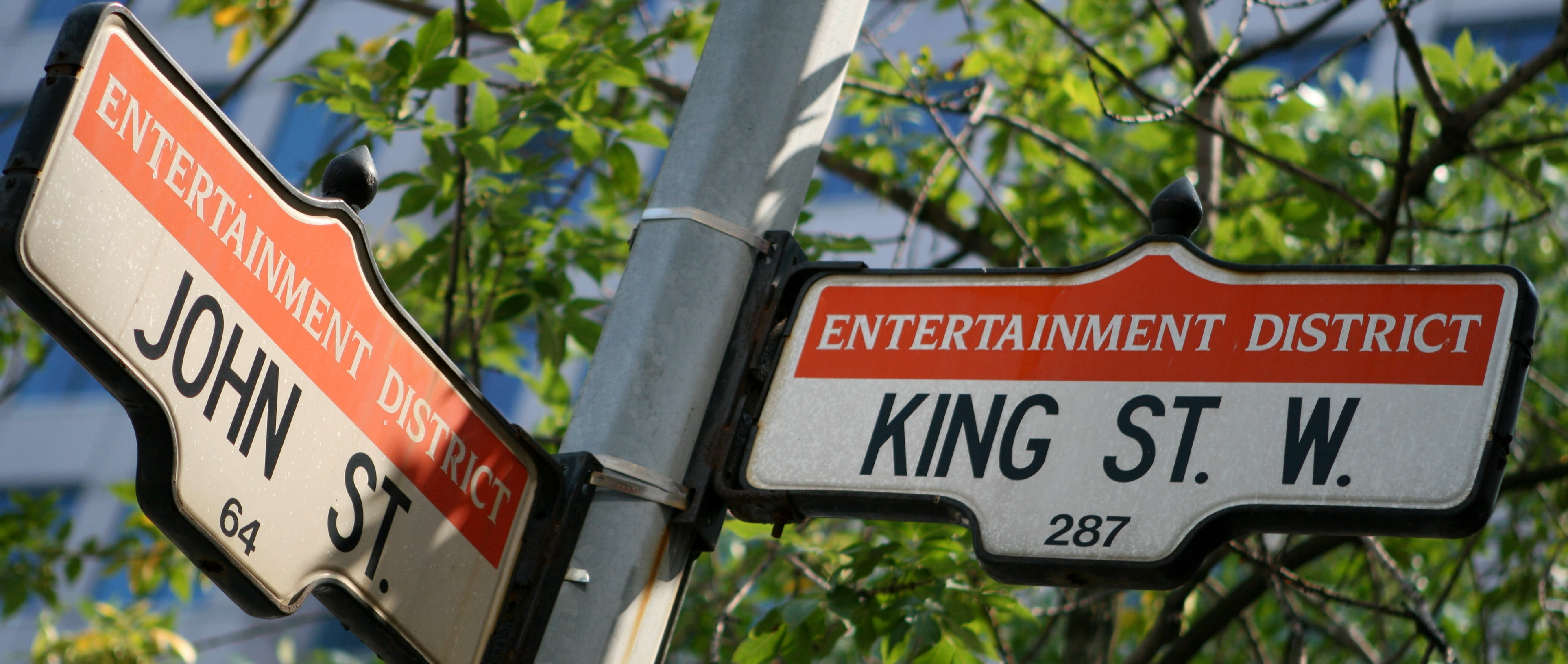 Historic Toronto Entertainment District Sign