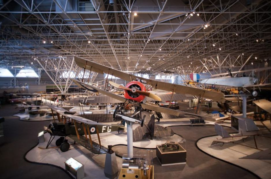 Aviation and Space Museum in Ottawa